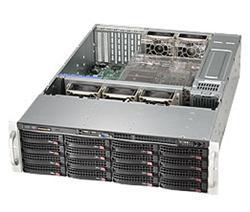 "SUPERMICRO 3U chassis 16x 3,5"" HS SAS/SATA (Expnader SAS2/6Gb - 1x SFF 8087), 2x1280W (80PLUS Platinum)"