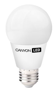 Canyon LED COB žárovka, E27, kulatá, 9W, ekv. 64 W, 880 lm, neutrální bílá 4000K, 220-240, 300 °, Ra> 80, 50.000 hod