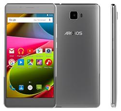 "ARCHOS 55 Cobalt+ LTE, 5.5"" 1280x720 IPS, 1GHz QC,2GB/16GB,Android 5.1, 13mpx,LTE,MicSD,Dual SIM,2700mAh, tmavě stříbrný"