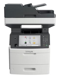 Lexmark MX711dhe, mono laser MFP, 40ppm,2400 dpi, 1GB, 800MHz, USB, GLan, Duplex,Fax,HDD
