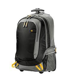 HP 15.6 Rolling Backpack / cestovní batoh s kolečky a teleskopickou tyčí
