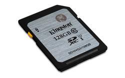 Kingston SDXC karta 128GB Class 10 UHS-I (rychlost čtení 45MB/s)