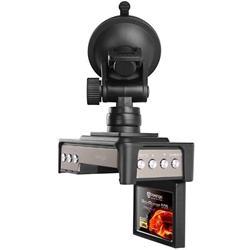 "PRESTIGIO Roadrunner 506 - Full HD kamera do auta s 2"" TFT LCD, 1920x1080 Video, USB2.0, magnetický držák, černá"