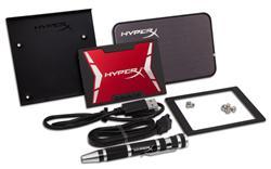 "Kingston HyperX Savage SSD 480GB SATA III 2.5"" MLC 7mm (čtení/zápis: 560/530MB/s; 100/88K IOPS) Upgrade Bundle Kit"