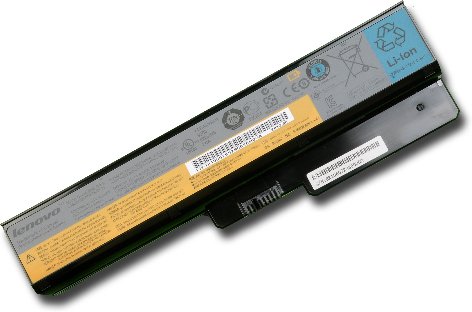 Lenovo Battery IdeaPad V460/B460/G450/G455/G550/G555 6 cell Li-Ion