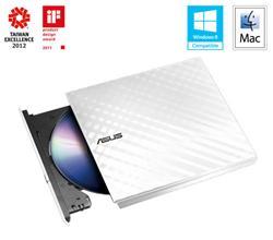 ASUS DVDRW External Slim SDRW-08D2S-U LITE/WHITE, Retail, biela