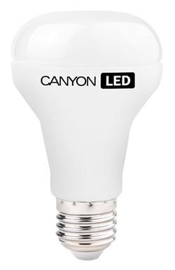 Canyon LED COB žárovka, E27, reflektor mléčná 10W, 806 lm, teplá bílá 2700K, 220-240, 120 °, Ra> 80, 50.000 hod