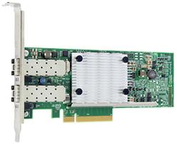QLOGIC Dual port PCIe Gen3 to 10Gb Ethernet SR Optics Adapter