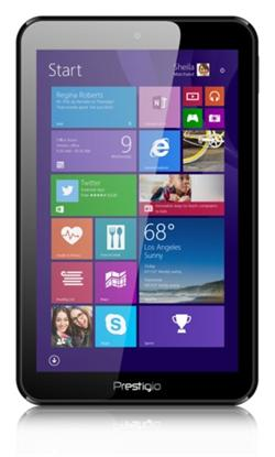 PRESTIGIO Multipad Visconte QUAD 8'' IPS,1280x800,1GB/16GB, Win 8.1+Office 365, CPU Intel Z3735G 1,83Hz, Wifi, BAZAR
