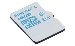 Kingston Micro SDHC karta do akčních kamer 16GB UHS-I U3 (čtení/zápis: 90/45MB/s)