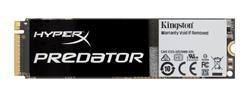 Kingston HyperX Predator SSD 480GB PCIe Gen2x4 M.2 2280 (čtení/zápis: 1400/1000MB/s; 130/118K IOPS) bez adaptéru