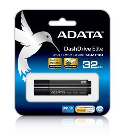 ADATA S102 Pro Flash 32GB, USB 3.0, Gray