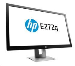 "HP EliteDisplay E272q, 27"" IPS/LED, 2560x1440 QHD, 1000:1, 7ms, 350cd, VGA/DP/HDMI, USB, PIVOT"