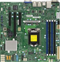 SUPERMICRO MB 1xLGA1151, iC232,DDR4,6xSATA3,PCIe 3.0 (1 x8, 1 x8 (in x16), 1 x4 (in x8)), IPMI (bulk)