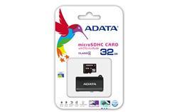 ADATA paměťová karta 32GB micro SDHC CL4 (čtení/zápis: 10/4MB/s) + OTG micro čtečka
