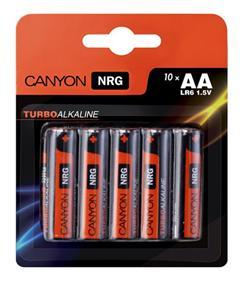 Canyon NRG alkaline battery AA, 10pcs/pack