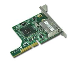 SUPERMICRO Dual 1Gbe NIC, UIO, Low Profile Card