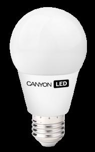 Canyon LED COB žárovka, E27, kulatá, 6W, 470 lm, neutrální bílá 4000K, 220-240, 300 °, Ra> 80, 50.000 hod