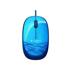 Logitech® Corded Mouse M105 - EER2 - BLUE