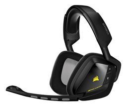Corsair bezdrátová herní sluchátka s mikrofonem VOID 7.1, RGB podsvícení, černá