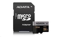 ADATA 32GB Micro SD SDHC UHS-I U3 Class 10 Premier Pro s adaptérem
