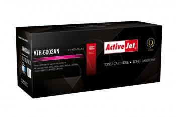 Toner ActiveJet AT-603M | Magenta | 2000 str. | Remanuf. + new OPC | HP Q6003A