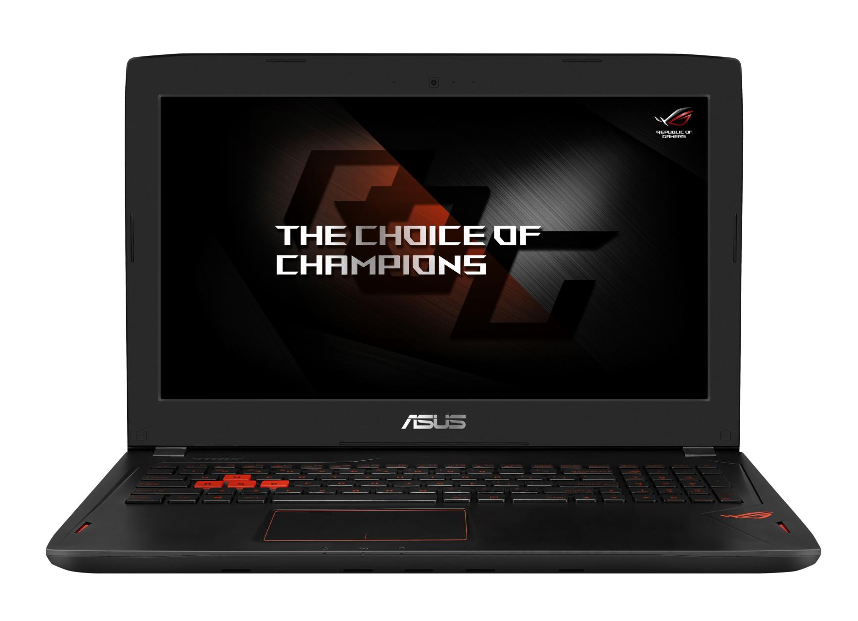 """ASUS GL502VY-FY024T i7-6700HQ/32GB/2TB HDD+512GB SSD/15,6"""" FHD/GTX980M 8GB/Win10/černý"""