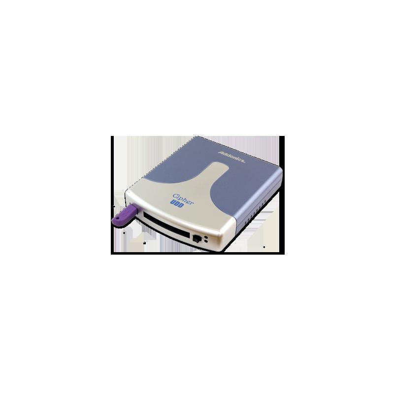 Addonics Cipher UDD, 64-bit DES šifrování, USB 2.0