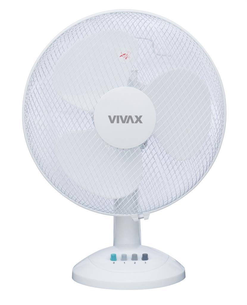 Vivax ventilator stolní 30 cm, FT-30T bílý