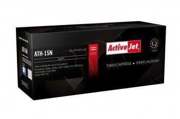 Toner ActiveJet ATH-15AN | černý | 2500 str. | HP C7115A (15A), Canon EP-25
