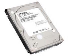 Internal HDD Toshiba 2,5'' 2TB SATA3 5400RPM