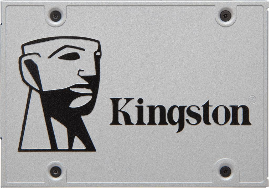 "Kingston BULK 240GB SSDNow UV400 SATA 3 2.5"" (7mm height) čtení až 550MB/s, zápis až 490MB/s"