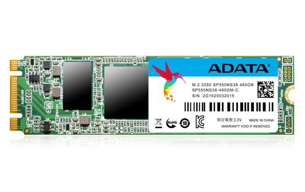 ADATA SSD 480GB Premier Pro SP550 M.2 2280 80mm (R:560/ W:510MB/s)