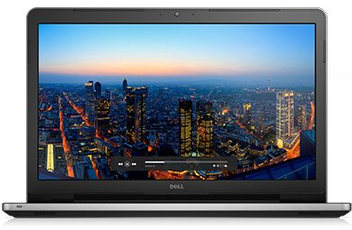 """Dell Inspiron 5759 17"""" FHD i5-6200U/8G/1TB/M335-2G/MCR/HDMI/USB/RJ45/DVD/W10/2RNBD/Stříbrný"""