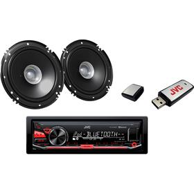 SADA KD X330 + REPRO 16CM + USB 8GB JVC