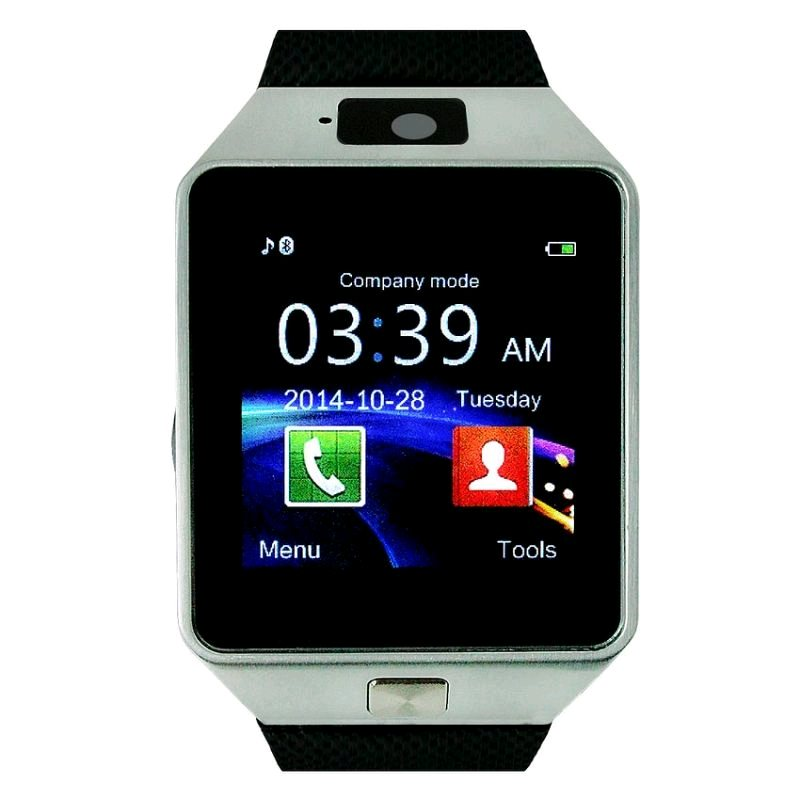 "C-TECH SmartWatch HF370, BT, 1,56"" display, černo-stříbrné"
