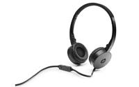 HP Stereo Headset H2800 Black - REPRO