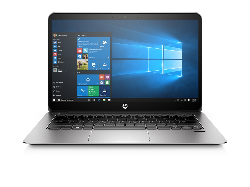 HP Folio 1030 G1 M7-6Y75 / 16 GB / 512 GB / 13,3'' QHD+ Touch / Win 10 Pro