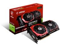 MSI GTX 1080 GAMING X 8G, 8GB GDDR5X, 256bit, DVI-D, HDMI, 3xDP