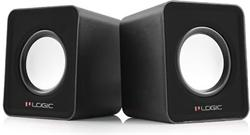 MODECOM LOGIC SPEAKERS 2.0 LS-09 BLACK
