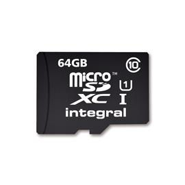 Integral micro SDHC/XC karta CL10 64GB - Ultima Pro - UHS-1 90 MB/s transfer