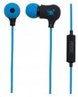 MANHATTAN sluchátka Sound Science Nova Sweatproof Earphones BLACK-BLUE