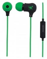 MANHATTAN sluchátka Sound Science Nova Sweatproof Earphones BLACK-GREEN