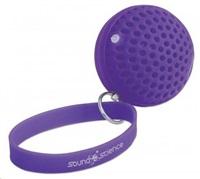 Manhattan Sound Science Atom přenosný bluetooth reproduktor, fialový