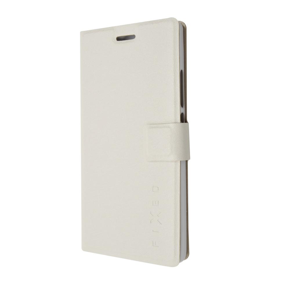 Book pouzdro FIXED Huawei Ascend P7, bílé