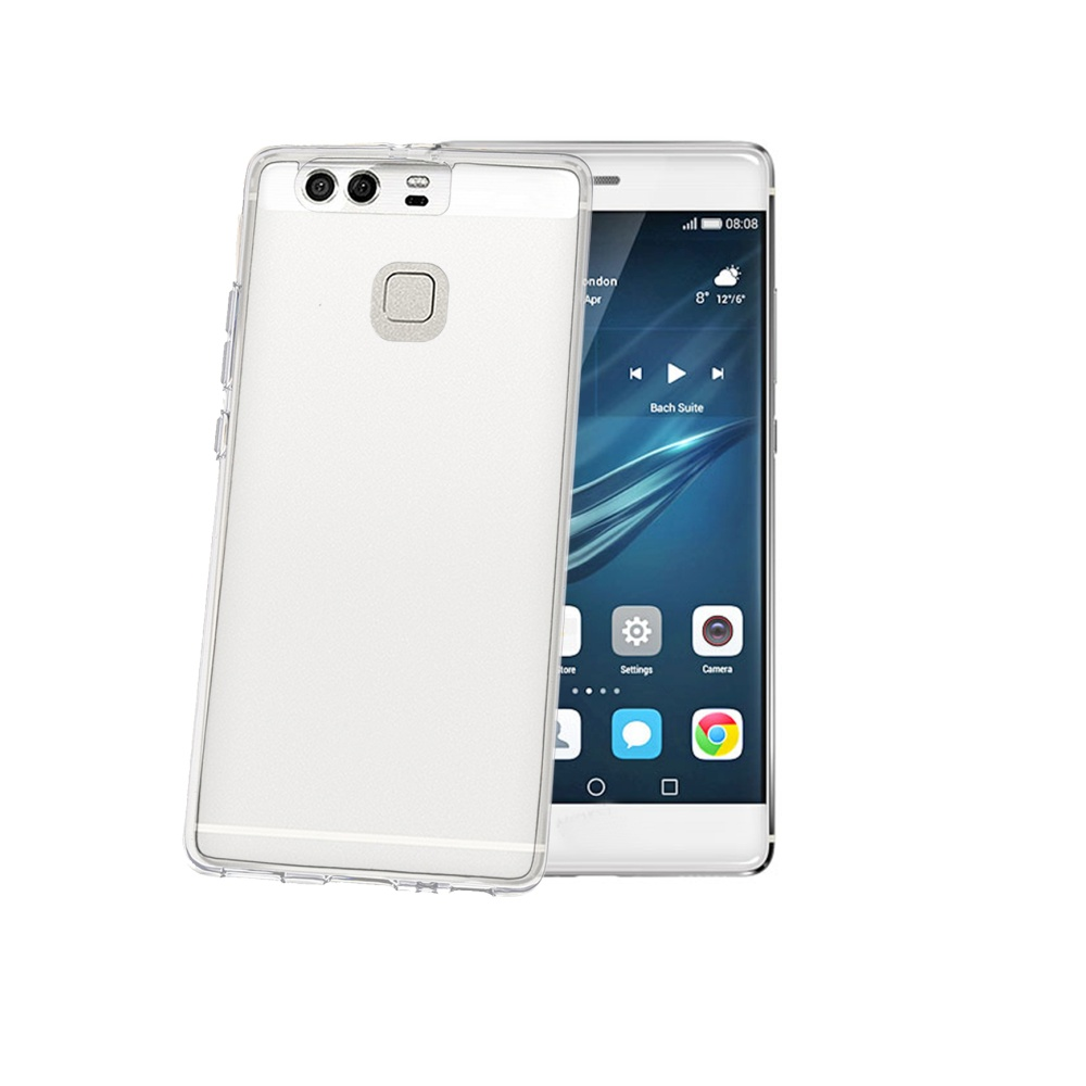 TPU pouzdro CELLY Huawei P9, bezbarvé