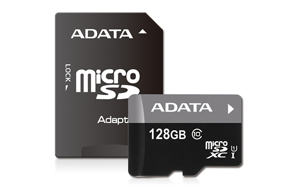 ADATA 128GB MicroSDXC Premier,class10 with Adapter