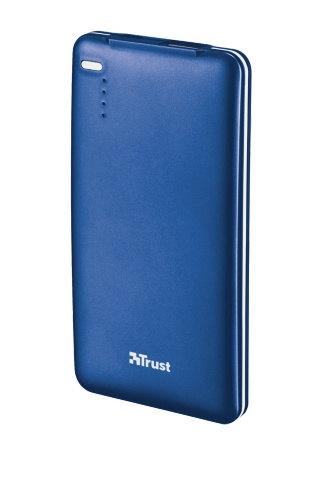 TRUST PowerBank 4000T Thin Portable Charger - blue