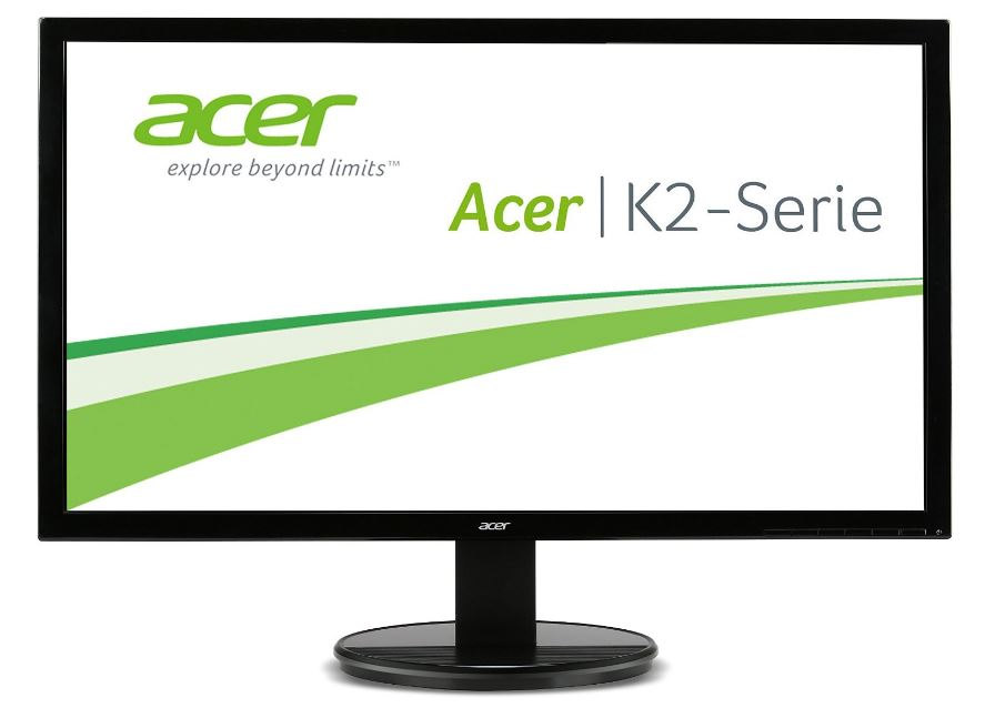 "Acer LCD K272HULEbmidpx, 69cm (27"") LED 2560x1440/100M:1/2ms/ 350cd/m2 / DVI, HDMI, DP/ repro / FlickerLess, LowDimming /Black"