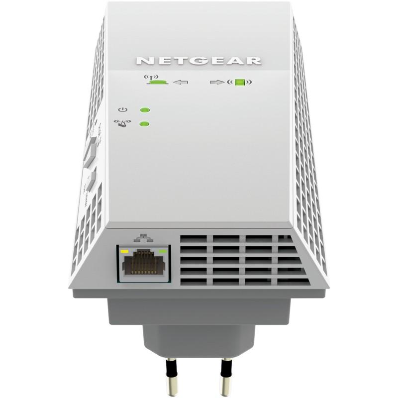 Netgear AC2200 Nighthawk X4 WiFi Range Ext. Dual Band, 1Pt, Wall-plug (EX7300)